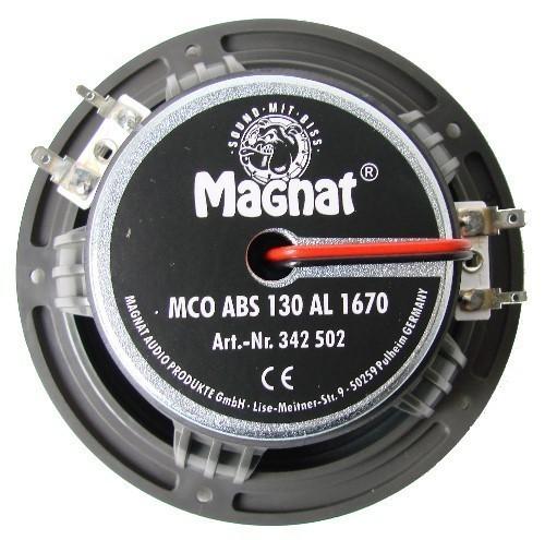 1 Paar 130 mm 2-Wege Koaxial Magnat MCOABS130AL1670 S 150 Watt max. – Bild 3