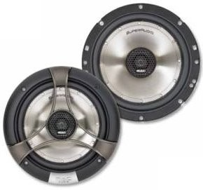 1 Paar 165 mm 2-Wege Koax mac Audio Super Audio 16.2