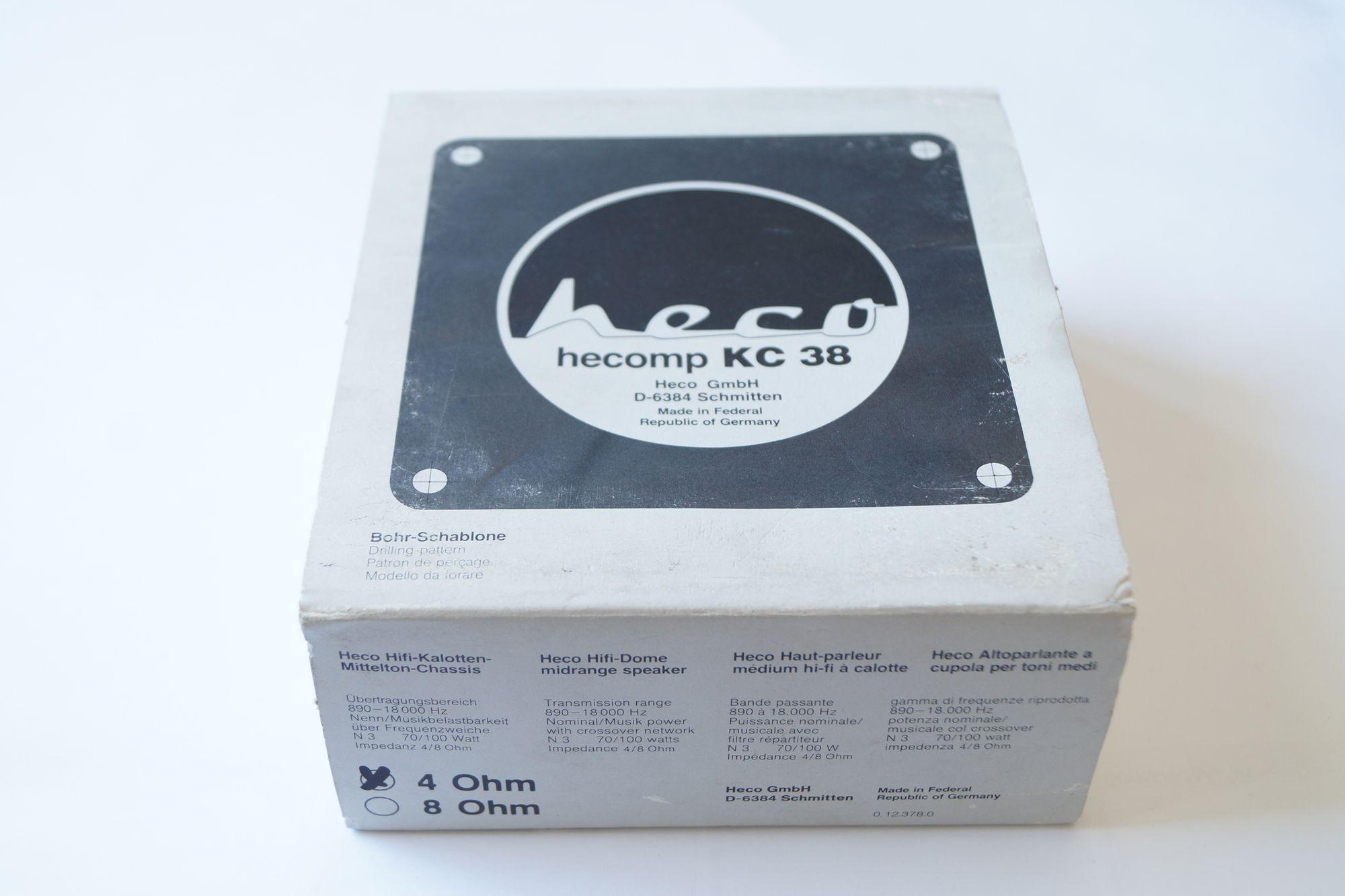 1 Stück 50 mm Hochton-Kalotte Heco hecomp KC 38  – Bild 6