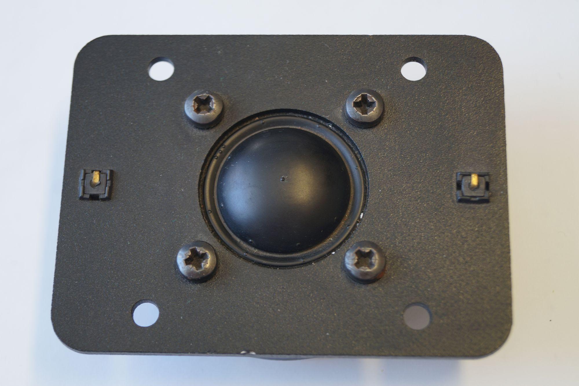 1 Paar 25 mm Hochton-Kalotte Magnat 1010380SDQD S 90 Watt max.