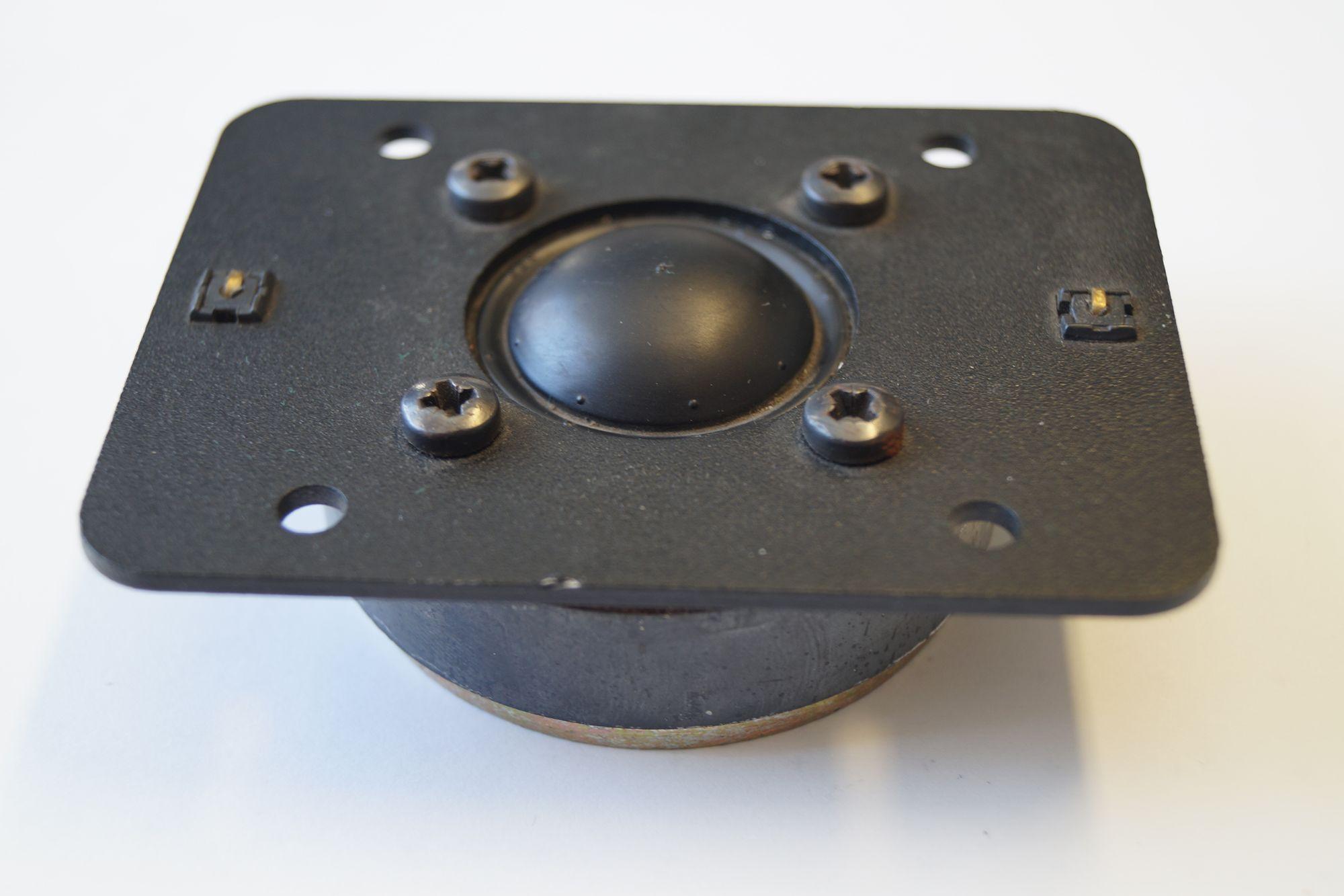 1 Paar 25 mm Hochton-Kalotte Magnat 1010380SDQD S 90 Watt max. – Bild 4