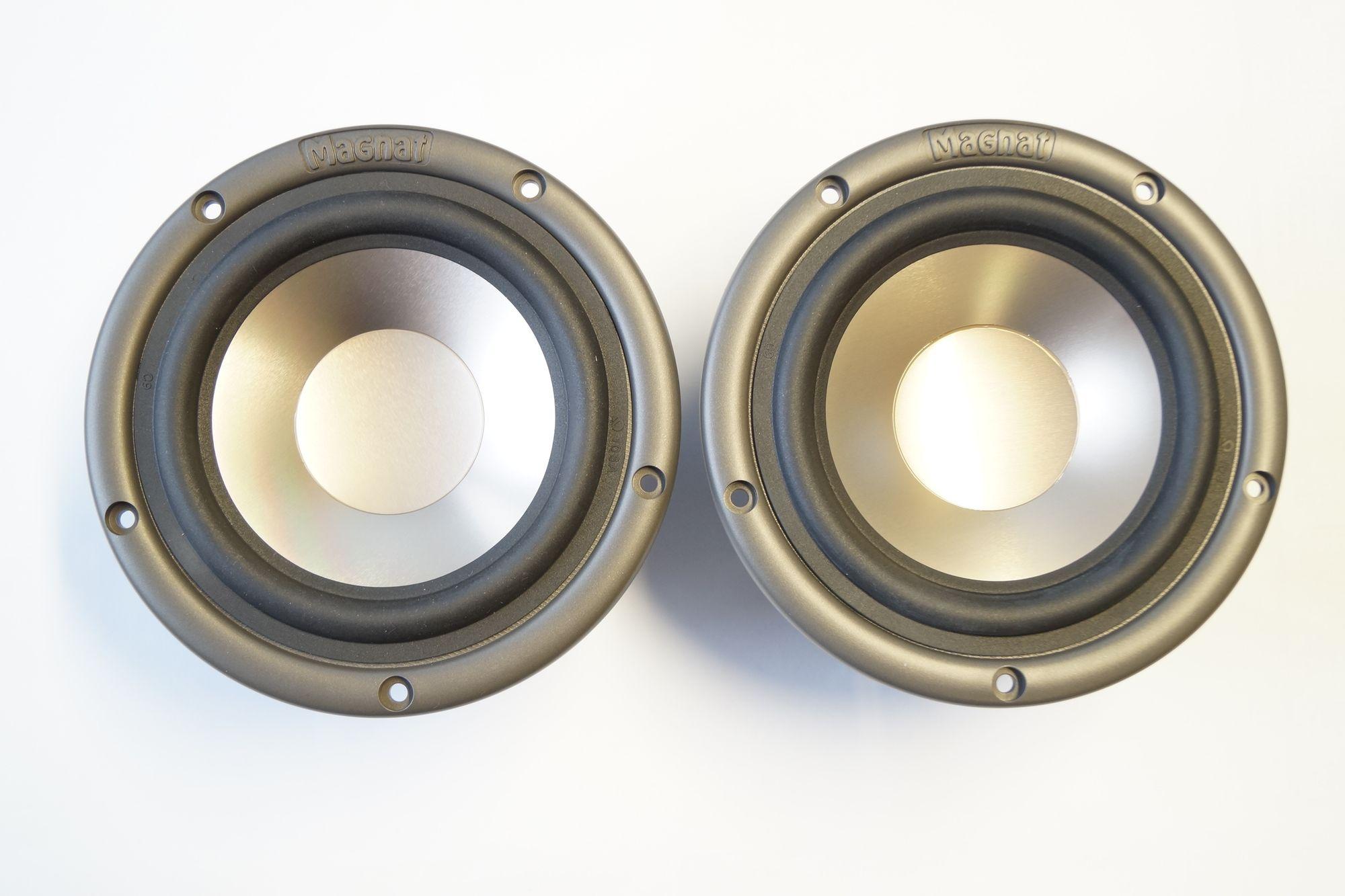 1 Paar Magnat MW ABS-135 AL 485,Tief Mitteltöner