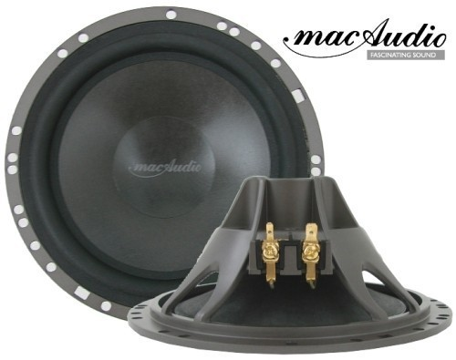 1 Paar 165 mm mac Audio Mac Absolute 2.16 Kickbass Tieftöner 145 Watt max.