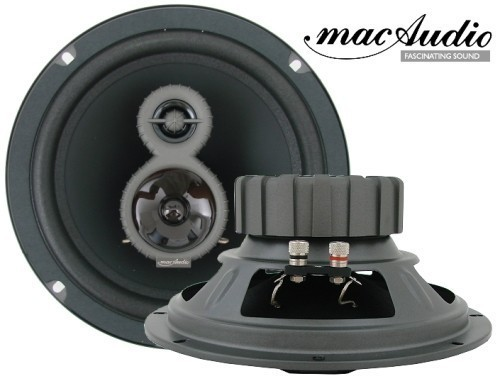 1 Paar 200 mm 3-Wege Triax mac Audio Mac Dynamic 20.3 150 Watt max.