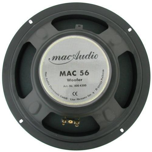 1 x 250 mm Woofer mac Audio Mac 56 Woofer – Bild 3