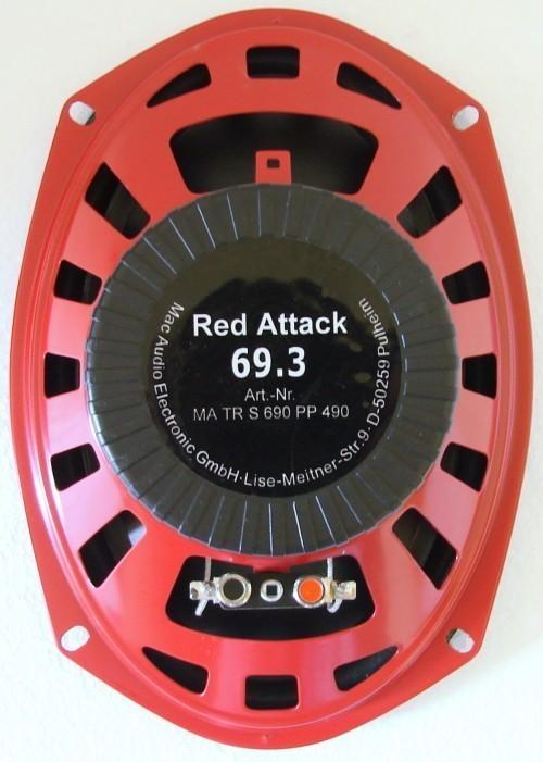 1 Paar , 3-Wege Triax Mac Audio Red Attack 69.3 + Gitter – Bild 4