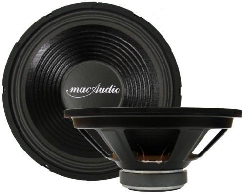 Mac Audio Mac Quattro 30,Subwoofer,Tieftöner,Basslautsprecher,350 Watt max., SERVICEWARE 001