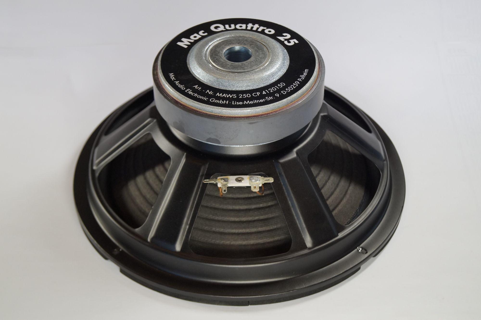 Mac Audio Quattro 25,25 cm Subwoofer,Basslautsprecher,Tieftöner – Bild 2