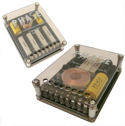 1 Paar Phase Linear Audiophile 5, 2-Wege Weichen, SERVICEWARE – Bild 1