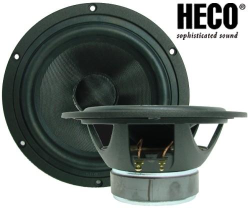 1 Paar Heco  HW160A-CPP890, 180 Watt max., SERVICEWARE