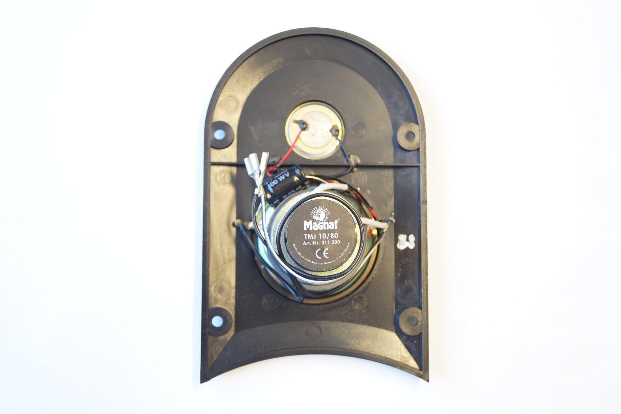 1 Paar 2-Wege universal Hoch Mittelton Einheit Magnat TMJ 10/80 S 160 Watt max – Bild 2