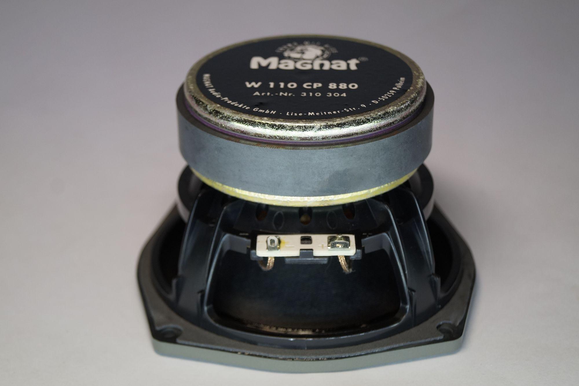 1 Paar Magnat W110 CP 880 Tiefmitteltöner 150 Watt max., NEU – Bild 4