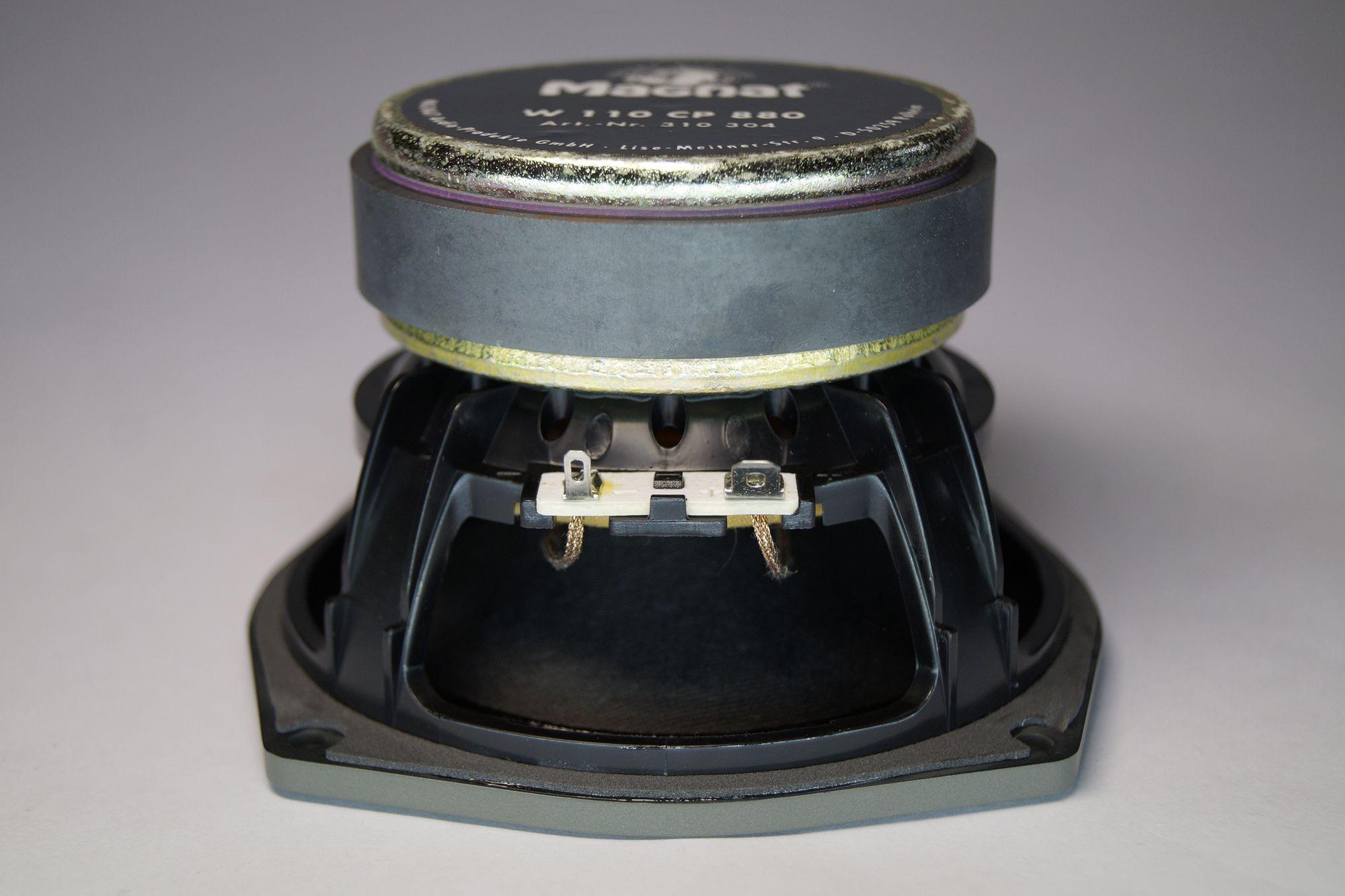 1 Paar Magnat W110 CP 880 Tiefmitteltöner 150 Watt max., NEU – Bild 5