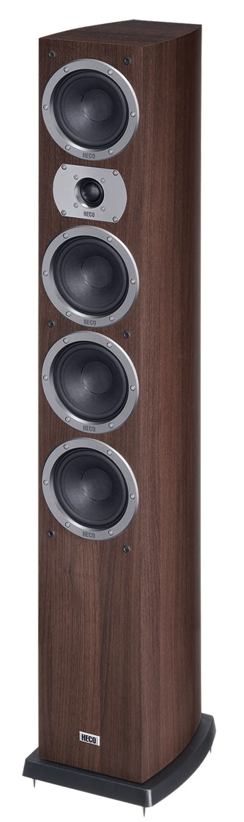 Heco Victa Prime 602, 3 Wege Bassreflex, 280 Watt max., espresso 1 Stück, Neu-Ware 001