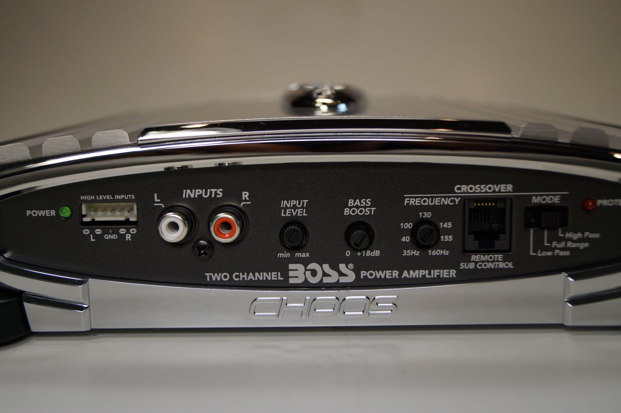 Boss Audio Systems CH450 2 Kanal Endstufe Auto Verstärker 1 Stück 600W  – Bild 3