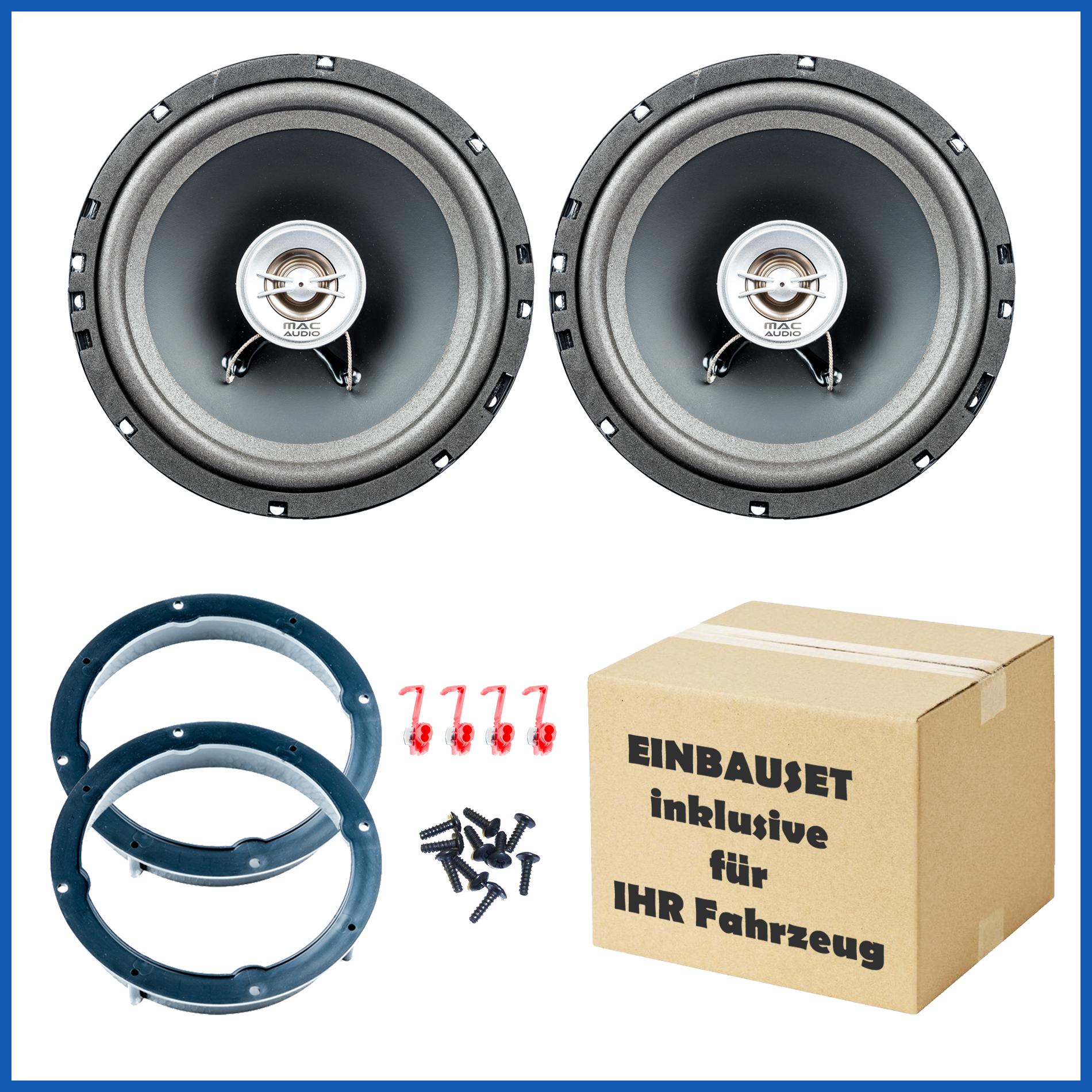 Lautsprecher Set passend für Volvo S60, V70, V70XC Tür vorne 001