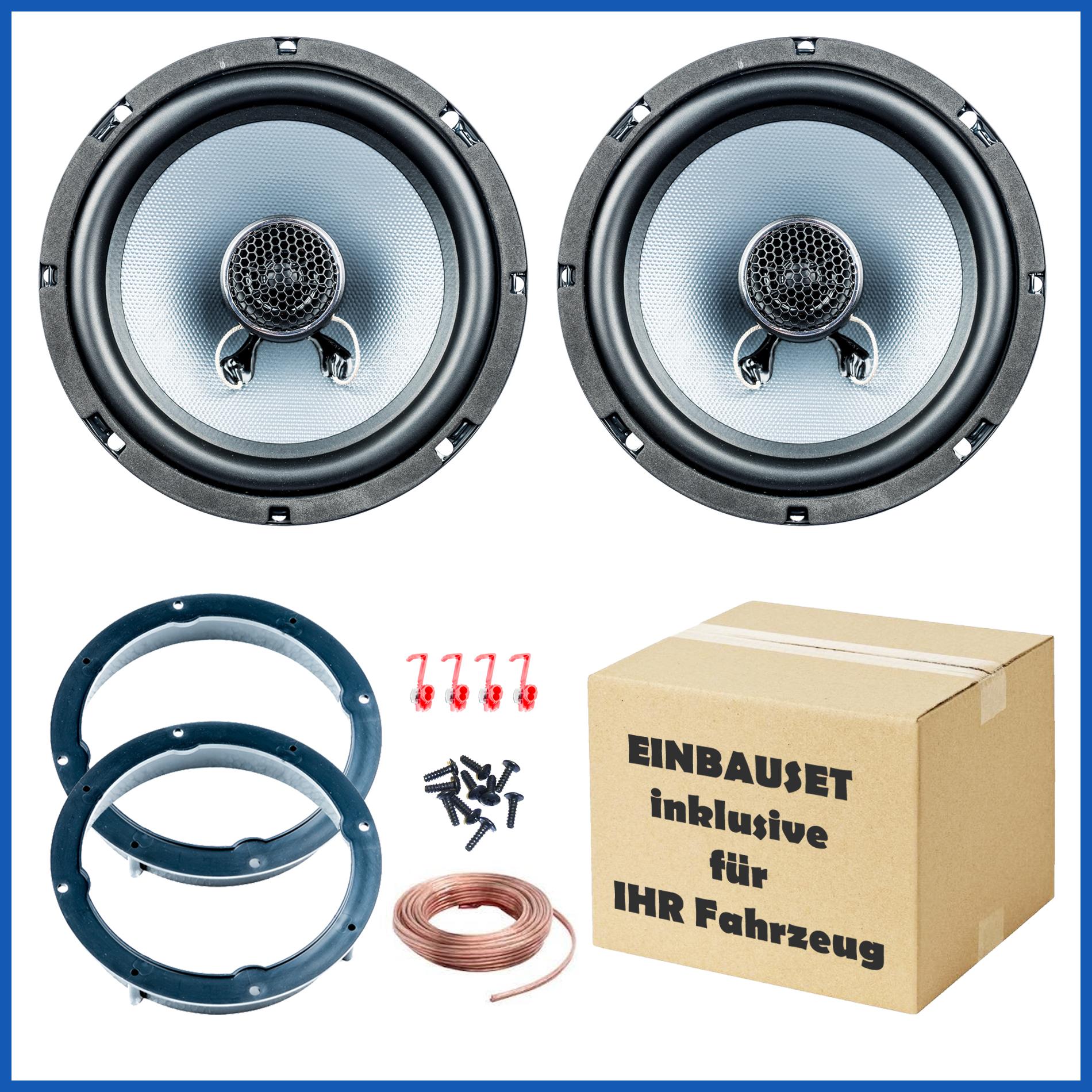 Volvo S60, V70, V70XC, Lautsprecher Einbauset Tür vorne