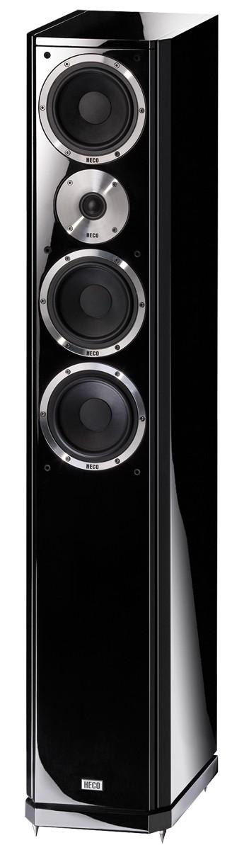 Heco Aleva GT 602 Anniversary,Standlautsprecher,3- Wege Farbe schwarz, 1 Stück Neu-Ware