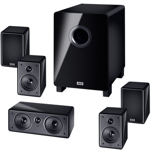 B-Ware, Heco Music Colors Cinema 5.1 A, Heimkino-System mit Aktiv- Subwoofer 001