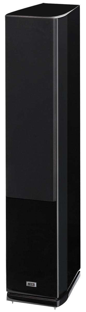 Heco Celan GT 702, 3- Wege Bassreflex mit Doppelbass, Standlautsprecher,Farbe: schwarz, 1 Paar Neu-Ware – Bild 5