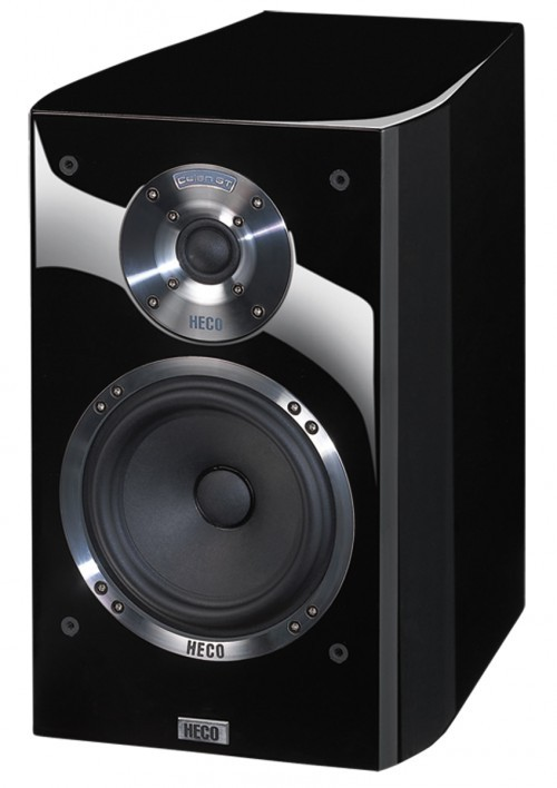 Heco Celan GT 302, 2 Wege Bassreflex, Regallautsprecher,Farbe: schwarz, 1 Stück Neu-Ware – Bild 1