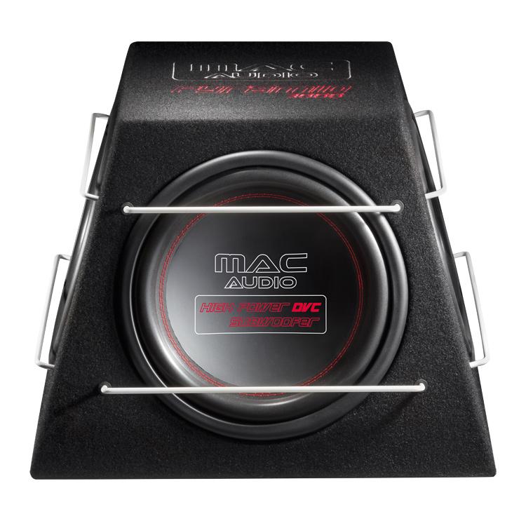 Mac Audio Pyramid 3000, Subwoofer mit Passiv-Radiator / 300 mm, schwarz, 1 Stück Neu-Ware