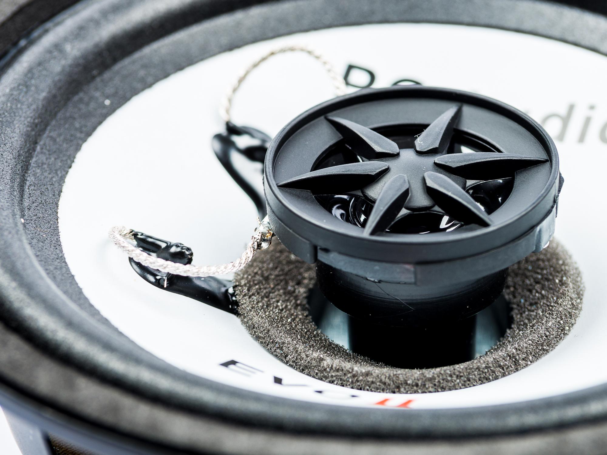 VW Scirocco Seat Mii Skoda Fabia Skoda City go Lautsprecher Einbauset Tür vorne PG Audio – Bild 4