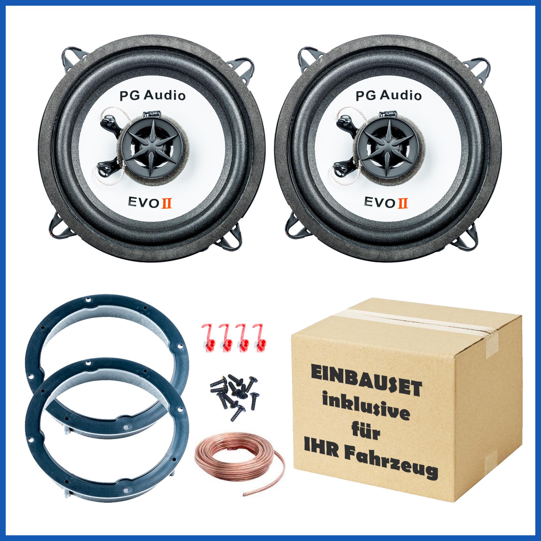 Mazda 2, Lautsprecher Tür Vorne, 2-Wege-Koax, Coax inkl. Adapterringe  – Bild 1