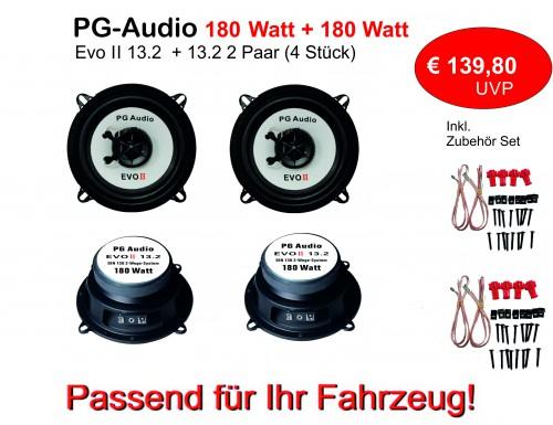 13cm Coax,2-Wege-Koax, Alfa Romeo 33,75,Alfasud/Sprint,Lautsprecher Vorne&Hinten PG Audio – Bild 2
