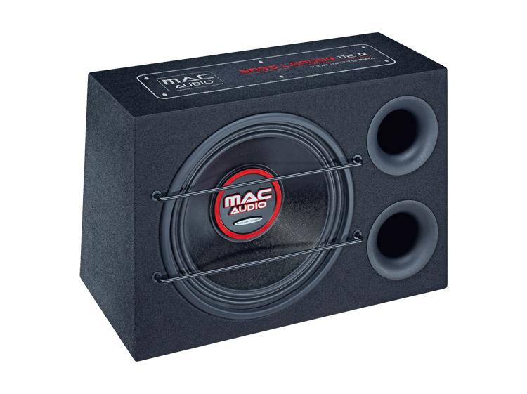 Mac Audio Bass Leader 112R,Bandpass-Subwoofer mit 300 mm Basstreiber, 1 Stück Neu-Ware – Bild 1