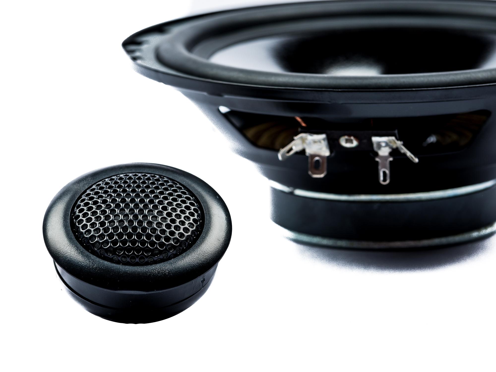 PG Audio 13 cm 2 Wege Kompo Auto Lautsprecher 2.13 Neu 120 Watt – Bild 2