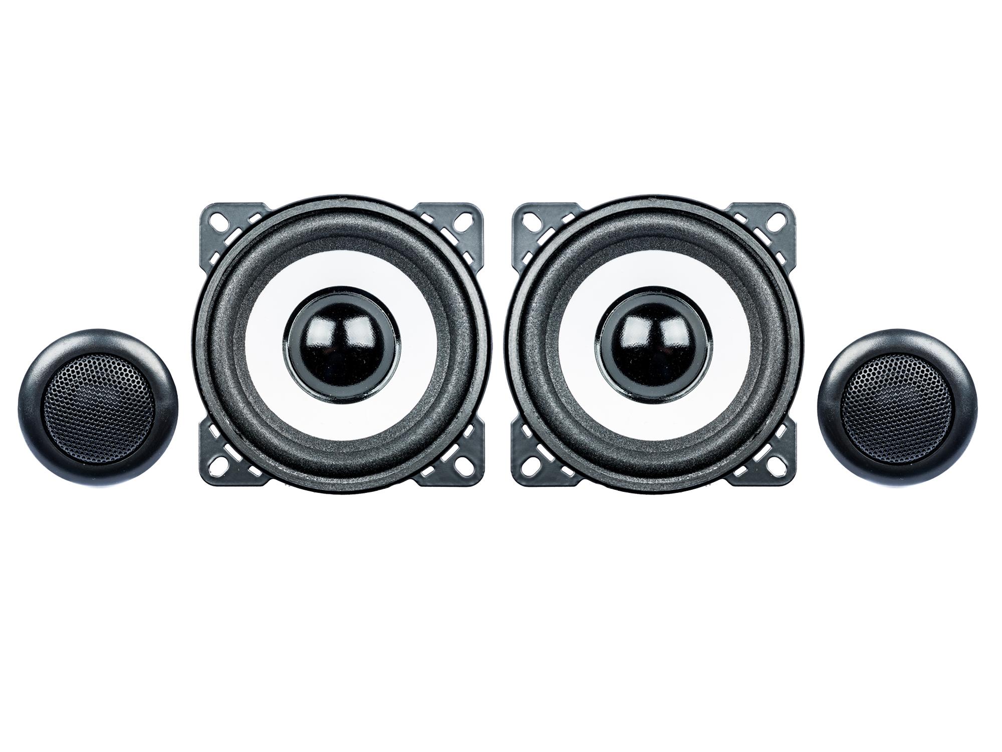 PG Audio Evo II 2.10 Kompo Lautsprecher 10 cm max. 160 Watt,100 mm 1 Paar 001