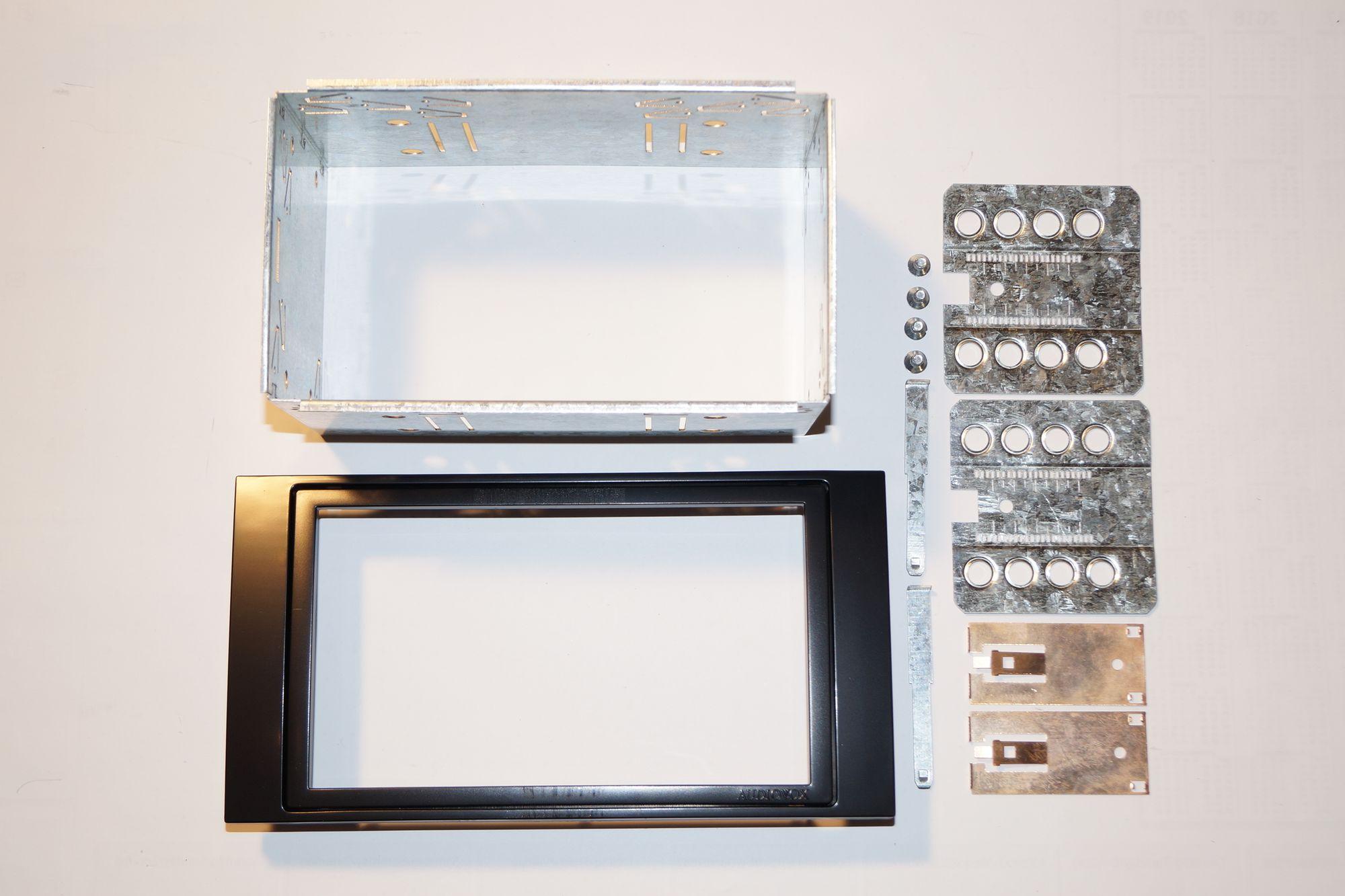Audiovox Doppel-DIN-Blende Opel, Antara, Astra H, Corsa D, Zafira II Neu Ware 001
