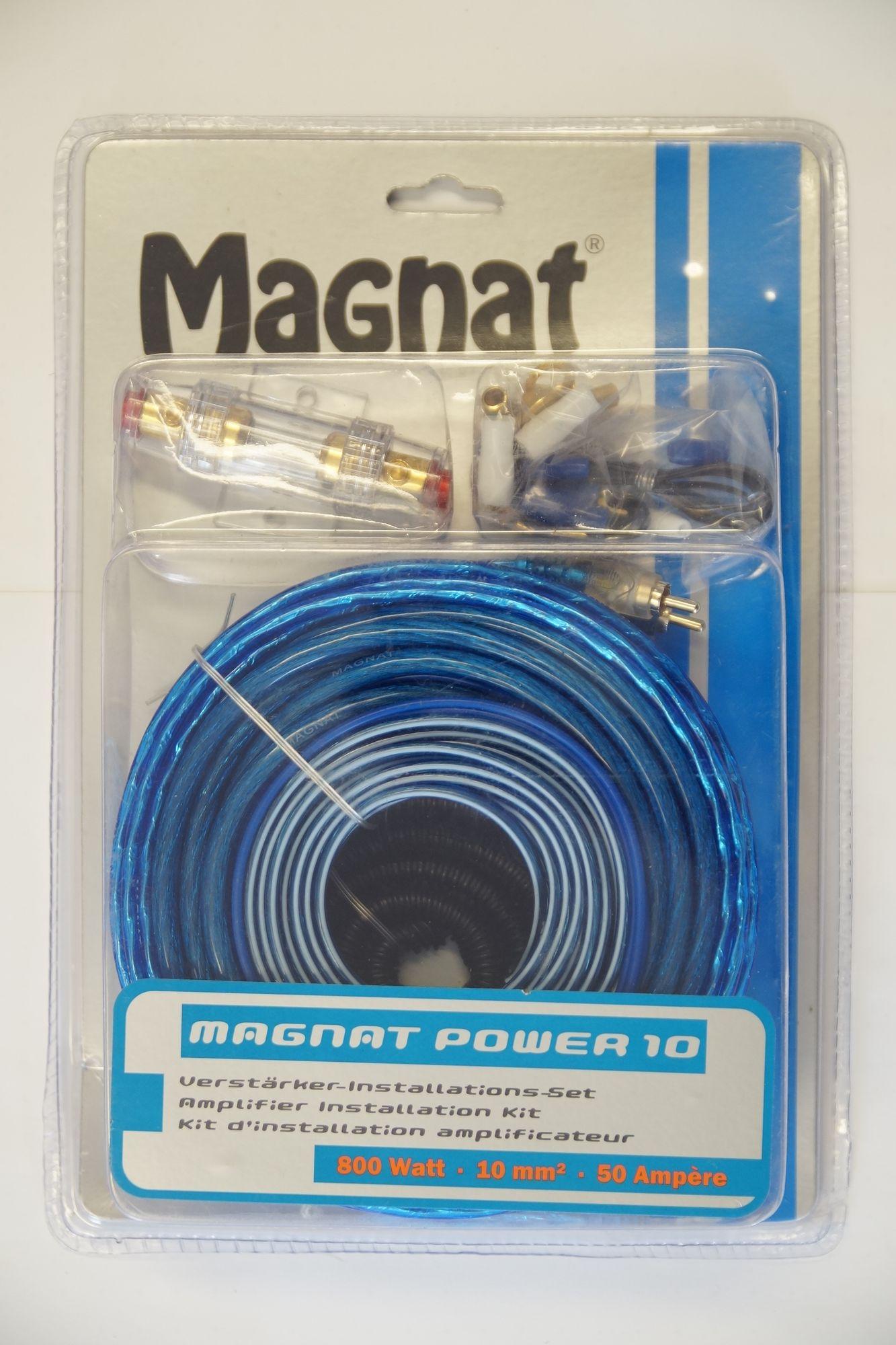 Magnat Power 10 Car Hifi-Auto Kabel-Set AMP KIT 10 mm², Neu-Ware 001