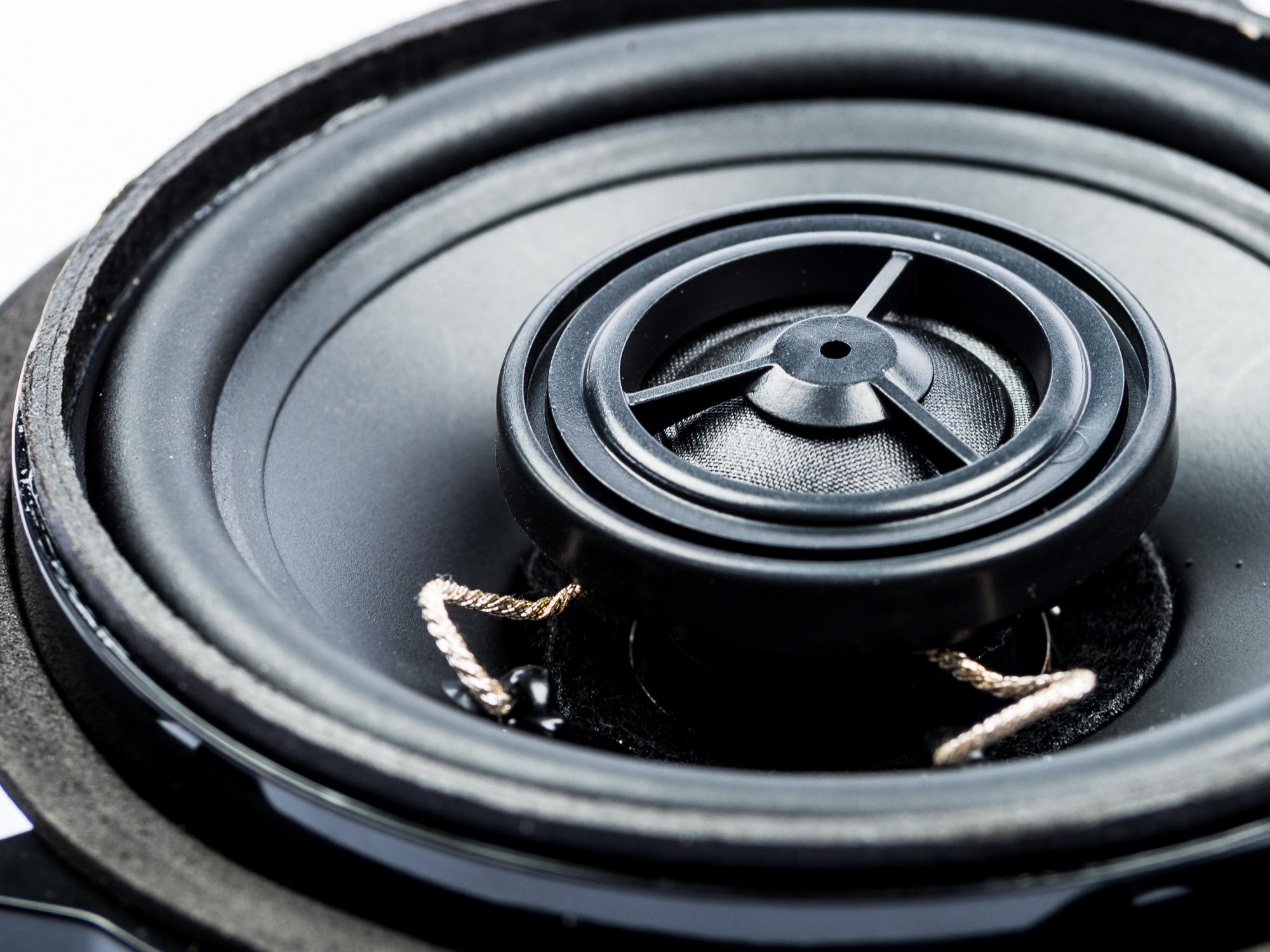 PG Audio BM-4, 10 cm Koaxial Lautsprecher passend für BMW 1er (E81, E82, E87, E88), 3er (E90, E91, E92) 5er (E60, E61), X1 (E84)1 Paar – Bild 4