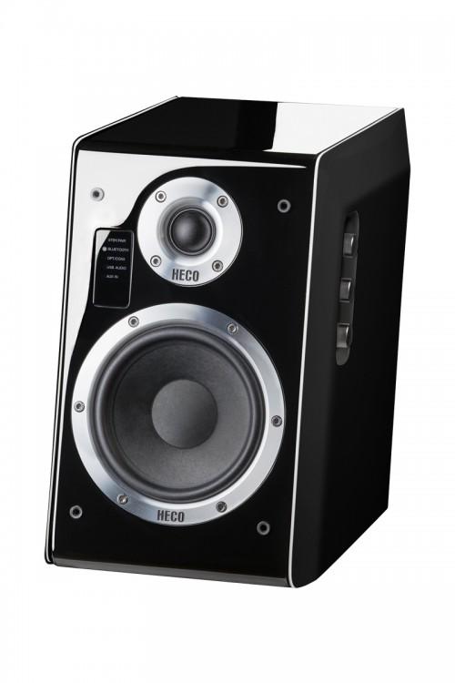 Ascada 2.0, Vollaktives Bluetooth-Stereolautsprecher-Set, *schwarz*, 1 Paar Neu – Bild 1
