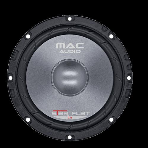 1 Paar Mac Audio Star Flat  2.16, 2 Wege Kompo System max. 300 Watt, NEU – Bild 2