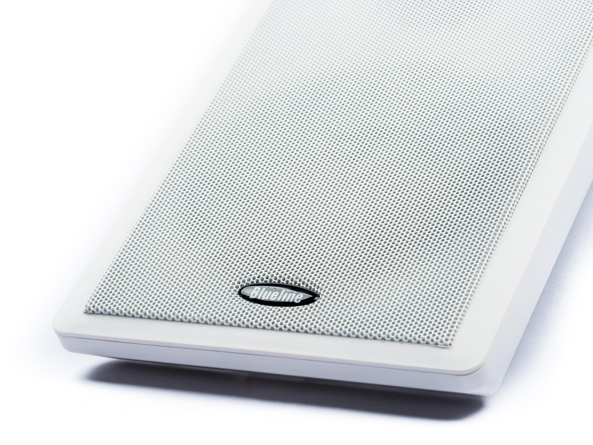 blueline flachlautsprecher f r dolby atmos 2 wege 40 watt paar wei ebay. Black Bedroom Furniture Sets. Home Design Ideas