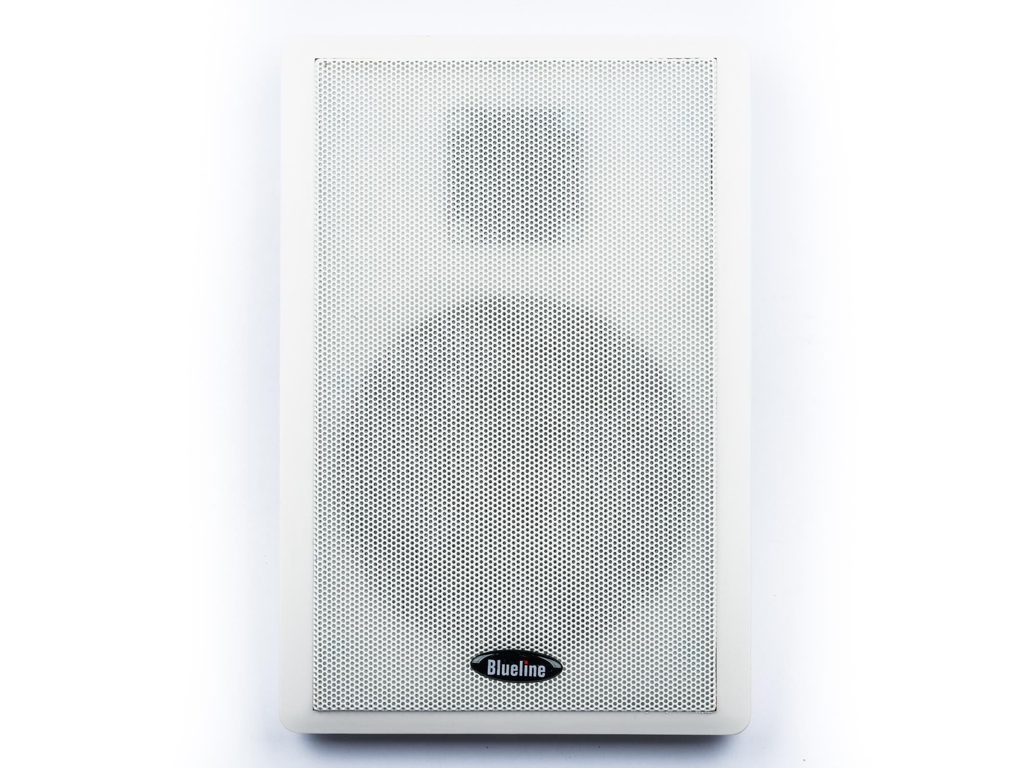 Blueline Flachlautsprecher für Dolby Atmos 2 Wege, 40 Watt Paar weiß – Bild 1