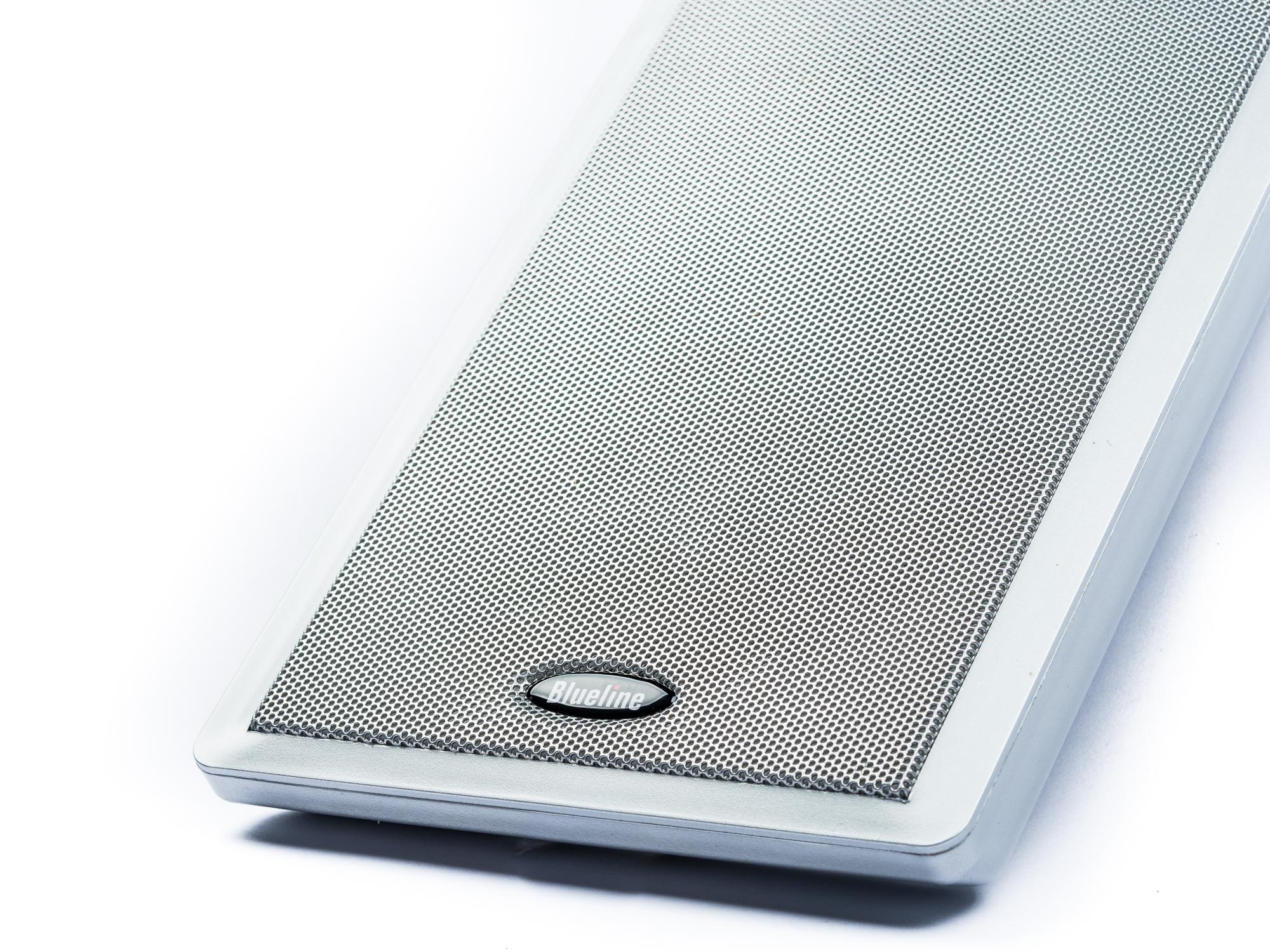 Blueline Flachlautsprecher für Dolby Atmos  2 Wege, 40 Watt Paar silber – Bild 2