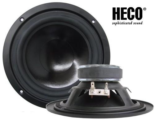 1 Paar 160 mm Tiefmitteltöner Heco  HW 160S-CPS480I S 160 Watt max.