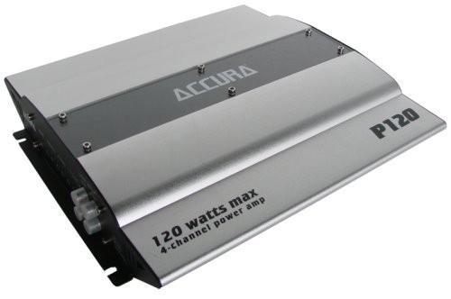 Accura P 120, Auto Verstärker 4 Kanal Endstufe 120 Watt max., Neu-Ware – Bild 1
