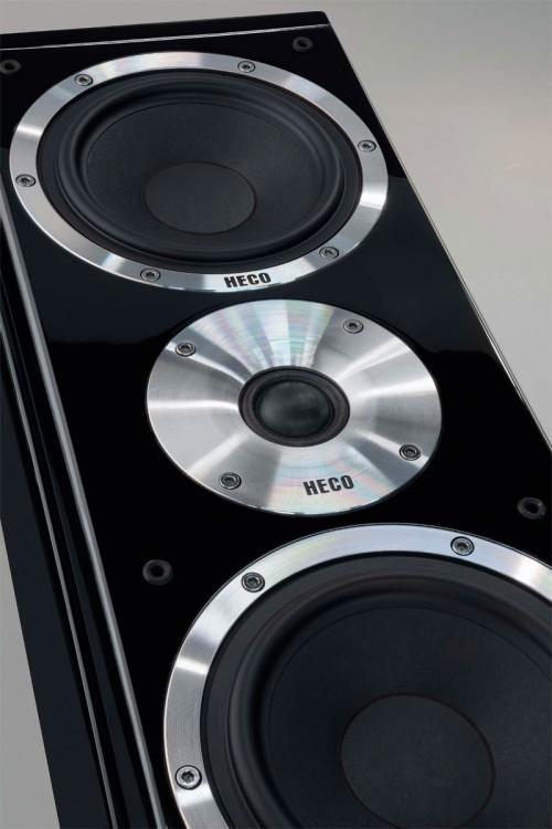 B Ware Heco Aleva GT 602 Anniversary,Standlautsprecher,3- Wege Farbe schwarz, 1 Stück  – Bild 5