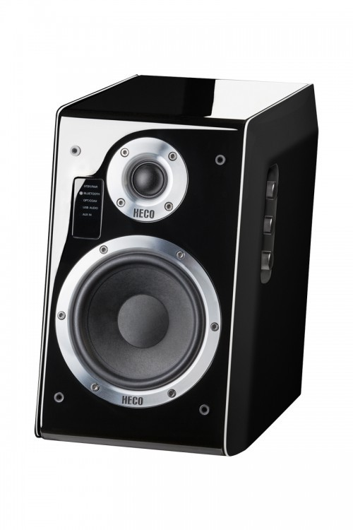 B Ware Ascada 2.0, Vollaktives Bluetooth-Stereolautsprecher-Set, *schwarz*, 1 Paar  001