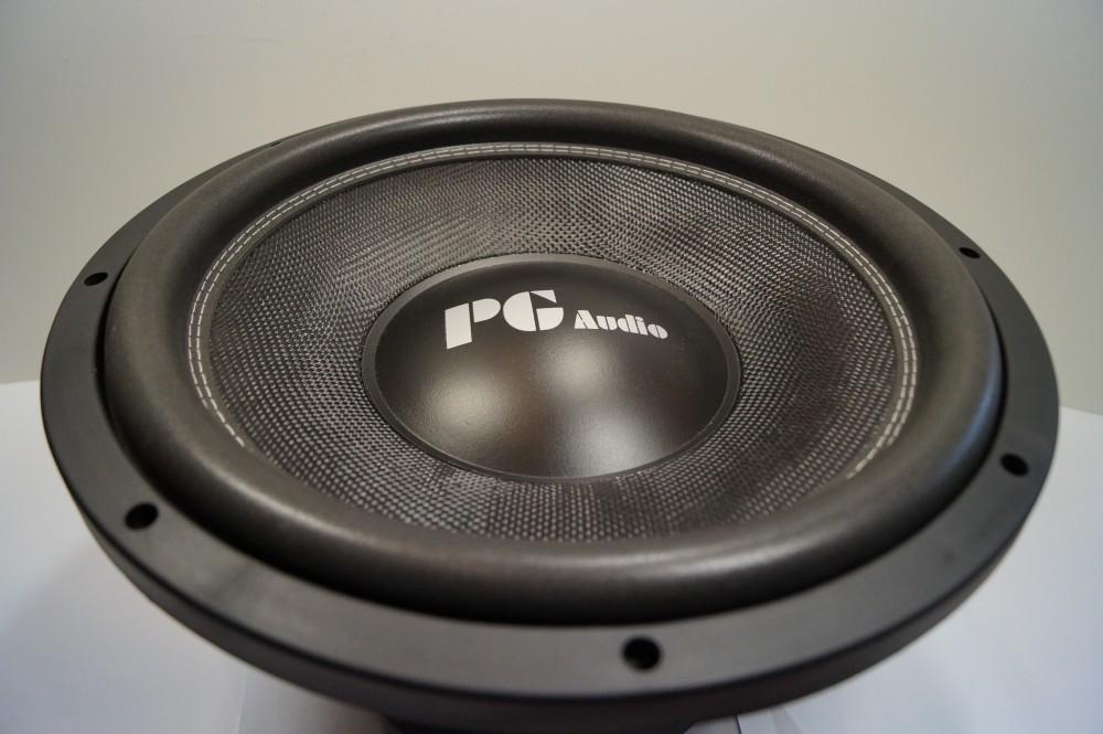 "PG Audio  - PG 15 SPL, 15"" 38 cm Subwoofer, 2000 Watt max.1 Stück 001"