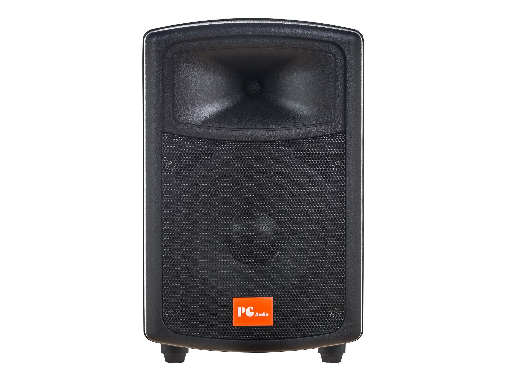 Pg Audio Pa 80 Disko Party Pa Lautsprecher 8 Zoll 20 Cm Bass 1 Stück Neu