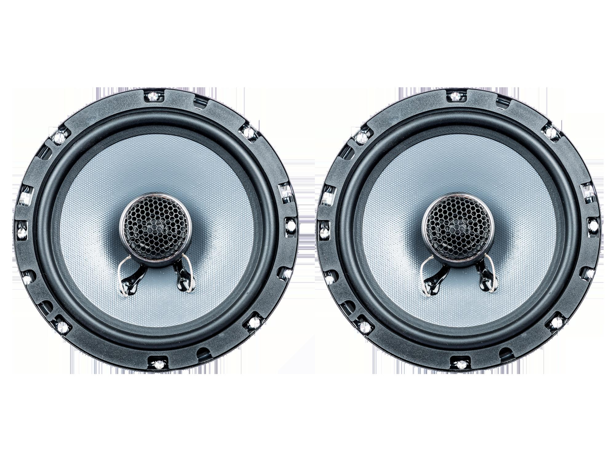 PG Audio EVO III 16.2F, 16 cm Coaxial Flachlautsprecher 1 Paar Neu 001