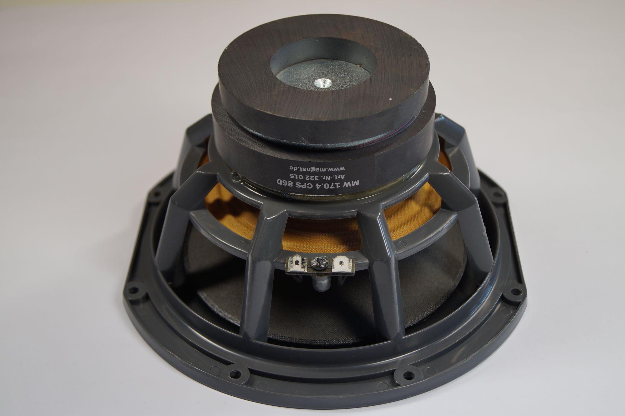 Magnat Shadow 207/209 ,MW 170.8 CPS 86 D ,Tieftöner – Bild 3