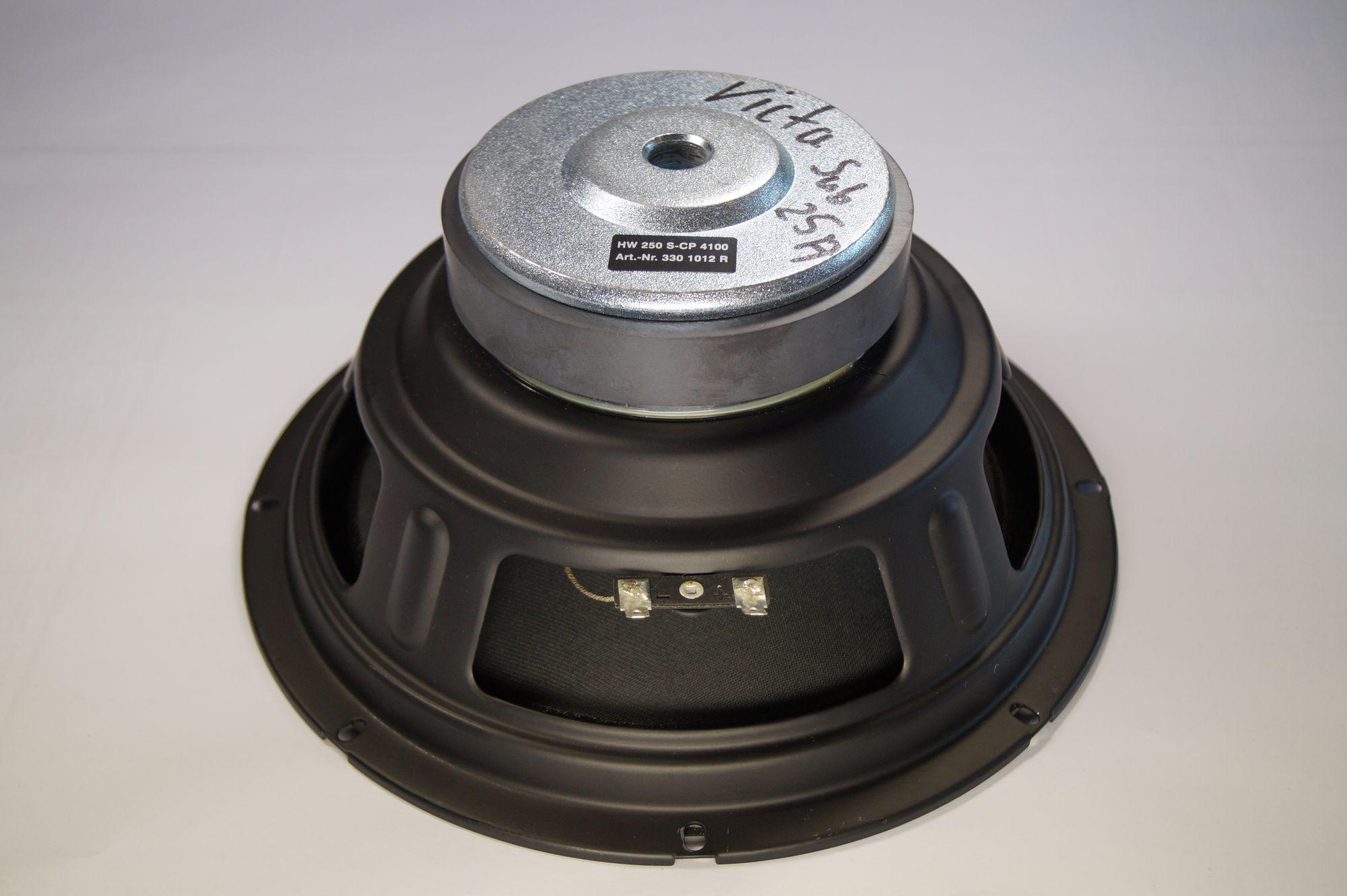 Heco Victa Sub 251, HW 250 S-CP 4100 Tieftöner, 1 Stück – Bild 3