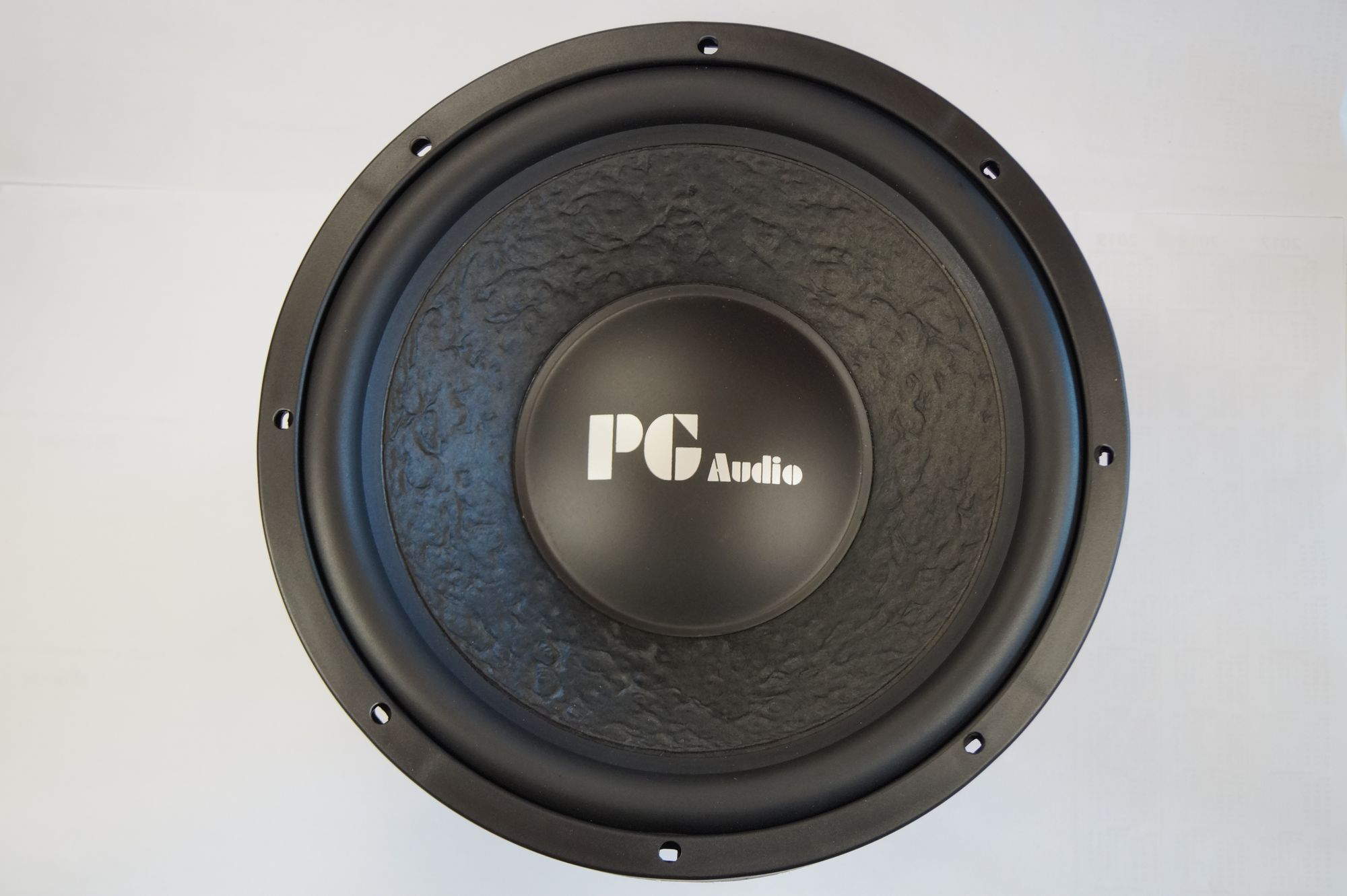 "PG Audio 1204 12"" 30 cm Subwoofer,Tieftöner,Basslautsprecher 600 Watt max., NEU 001"